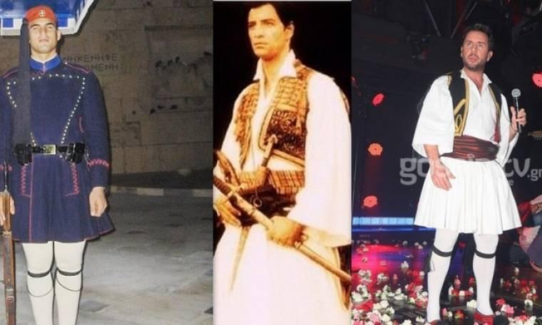 Οι celebrities τιμούν την Εθνική μας γιορτή! Οι τσολιάδες της ελληνικής σόουμπιζ...