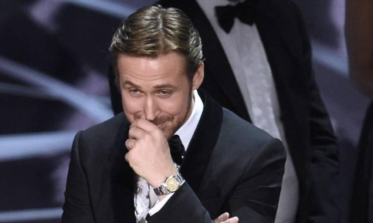 Ryan Gosling: Γιατί ξεκαρδίστηκε στα γέλια με την… γκάφα στα Oscars