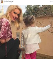 Ελένη Μενεγάκη: Η πρώτη φωτογραφία στο Instagram με τη μικρή Μαρίνα
