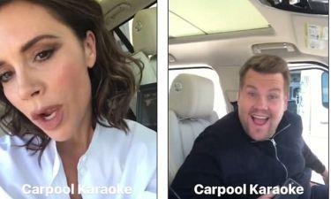 Beckham και Corden σε ένα carpool καραόκε… όλα τα λεφτά