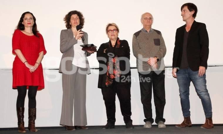 Στην τελετή λήξης του Γαλλικού Φεστιβάλ Κινηματογράφου