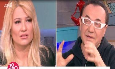 Σκορδά: Αποκάλυψε όσα είπε στα backstage της εκπομπής με τον Πανταζή για την κόντρα με τη Ζώζα