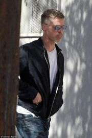 Καταρρακωμένος ο Brad Pitt μετά το διαζύγιό του