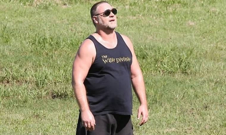 Η απάντηση του Russell Crowe στο κράξιμο που έχει «φάει» για τα… κιλά του