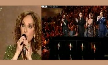 Οι κριτές του «Rising star» σηκώθηκαν όρθιοι για να χειροκροτήσουν την Γλυκερία