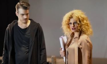 Η Τάνια Τρύπη και η Roxy πρωταγωνιστούν στη νέα φιλοζωική, μη-εμπορική ταινία Re-Action