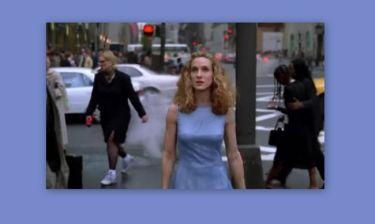 Αυτή είναι η κομμένη σκηνή από τους τίτλους αρχής της σειράς «Sex and the City»