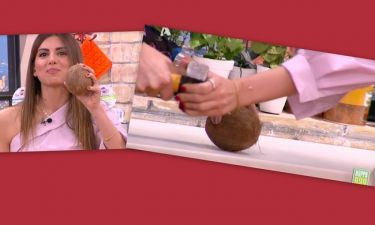 To Happy Day έγινε… Survivor: Η Τσολάκη προσπαθεί να ανοίξει την καρύδα και η Τσιμτσιλή ουρλιάζει!