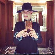 Μαρία Μπακοδήμου: Απολαμβάνει το ταξίδι της στην Νέα Υόρκη