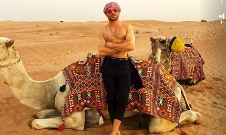 Ο Zac Efron και οι καμήλες