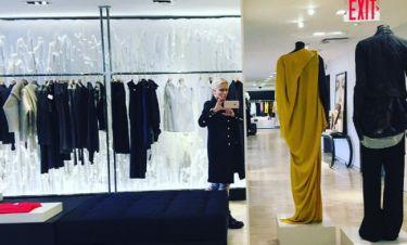 Shopping therapy στη Νέα Υόρκη για την Μαρία Μπακοδήμου