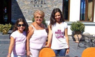 Βέφα Αλεξιάδου: Για γεύμα με τα εγγόνια της