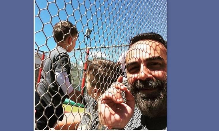 Γκουντάρας: Τα παιδιά του κάνουν τραμπολίνο και εκείνος βγάζει selfie!