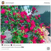 Ελένη Μενεγάκη: Θα πάθετε πλάκα με την αρετουσάριστη selfie που πόσταρε στο instagram