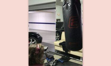 Ζήνα – Λύρας: Δείτε την κόρη τους να κάνει kick boxing