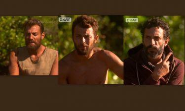 «Survivor»: Αγγελόπουλος – Χανταμπάκης – Χρανιώτης: Έτσι αντέδρασαν μετά την υποψηφιότητα τους!