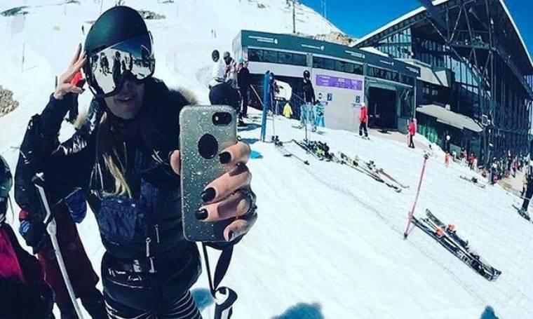 Πήγε για σκι στα μέσα της άνοιξης η...