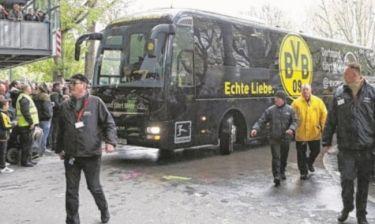 ΣΟΚ: Έκρηξη δίπλα στο πούλμαν της Ντόρτμουντ – Στο νοσοκομείο παίκτης