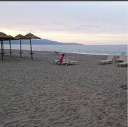 Βίκυ Βολιώτη: Διακοπές με την κόρη της στα Χανιά