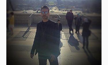 Κώστας Μηλιωτάκης: Πάσχα στο Παρίσι με την κόρη του