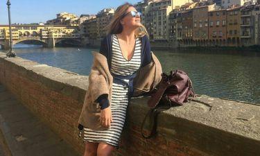 Δέσποινα Καμπούρη: Το ταξίδι της στην Φλωρεντία
