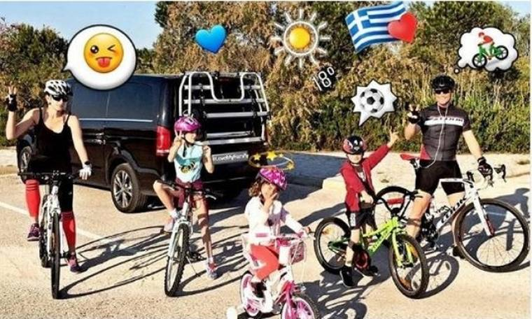 Λιώσαμε! Η οικογενειακή φωτογραφία που δημοσίευσε ο Σάκης Ρουβάς στο instagram του!