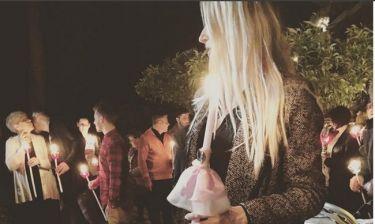 Όλγα Πηλιάκη: Έκανε Ανάσταση με τον κούκλο γιο της