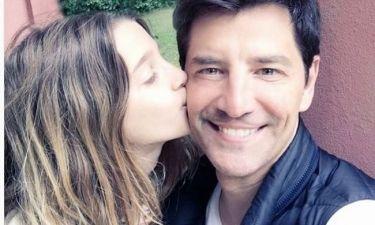 Σάκης και Αναστασία Ρουβά: Μπαμπάς και κόρη γιορτάζουν (Τρυφερή φωτό)