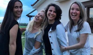 Η Μαρία Ανδρούτσου και οι… συμμαθήτριές της