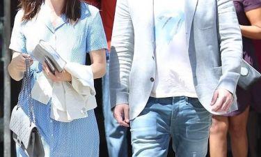 Το διάσημο ζευγάρι στην πρώτη του κοινή έξοδο, μετά την ανακοίνωση του διαζυγίου του