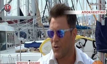 Χρήστος Χολίδης: «Μου είχε γίνει πρόταση για το Survivor αλλά δεν απάντησα»