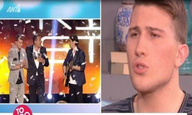 «Κόκκαλο» ο νικητής του Rising Star όταν δεν σηκώθηκε ο τοίχος - Δείτε τι αποκάλυψε στην Σκορδά