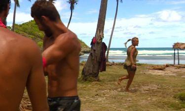 Survivor: Το φίδι που έκανε την Λάουρα να τρέξει πιο γρήγορα από ότι στα αγωνίσματα