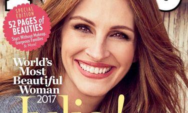 Julia Roberts: Για πέμπτη φορά η «πιο όμορφη γυναίκα στον κόσμο»