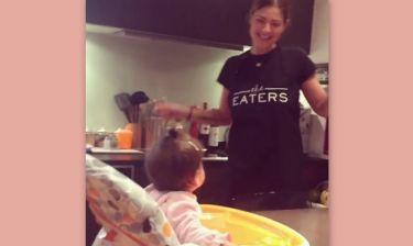 Το τρυφερό βίντεο της Δέσποινας Καμπούρη με την μικρή της κόρη