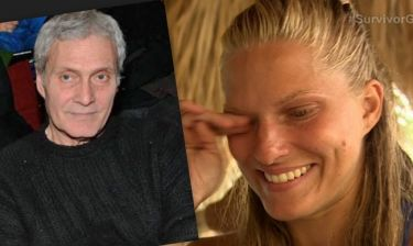 Survivor: Τα κλάματα της Σάρας διαβάζοντας το γράμμα του μπαμπά της, Αλμπέρτο Εσκενάζυ