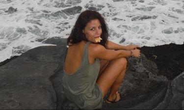 Ειρήνη Κολιδά: To πρωινό που απολαμβάνει και τα παιχνίδια με τον γιο της στην παραλία