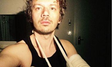 Γιώργος Νανούρης: Έπαθε κάταγμα στον αγκώνα
