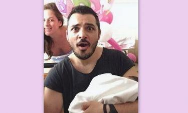 Κώστας Δόξας: Η τρυφερή φωτογραφία της νεογέννητης κόρης του στο Instagram