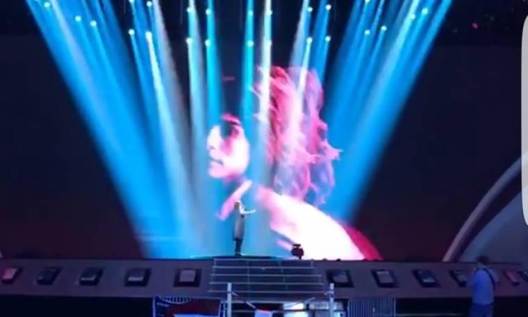 Eurovision 2017: Οι πρώτες εικόνες από το stage στο Κίεβο, το press room και οι πρόβες των αποστολών