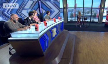 The X-Factor: Η Ιταλίδα με το ποδήλατο που ενθουσίασε την κριτική επιτροπή