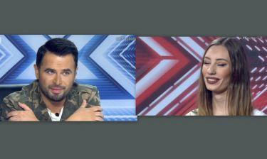 The X-Factor: Η παίκτρια που έκανε τον Γιώργο Παπαδόπουλο να πει: «Σ΄ έχω ερωτευτεί»