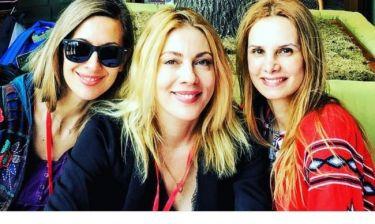 Σμαράγδα Καρύδη: Στη Μόσχα με τις φίλες της