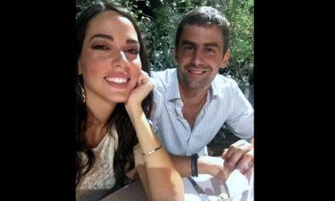 Ο λαμπερός γάμος της Ισμήνης Νταφοπούλου με τον εφοπλιστή Διαμαντή Αγγελάκη! (φωτό)