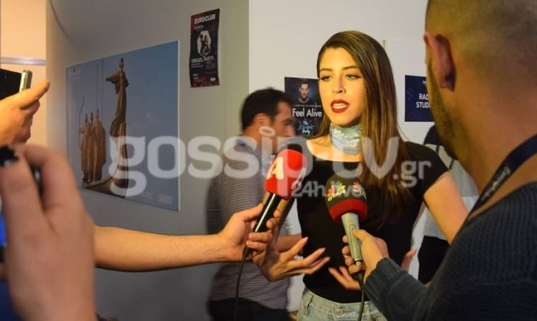 Eurovision 2017: Το απρόοπτο στην εγγραφή της Ελλάδας και η επανάληψη της εμφάνισης της Demy