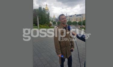 Το Gossip-tv στο Κίεβο: Oι πρώτες δηλώσεις του Καπουτζίδη για το απρόοπτο στην εγγραφή της Ελλάδας