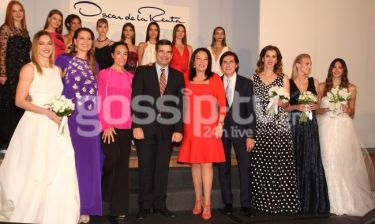 Όλα όσα έγιναν στην επίδειξη μόδας του Oscar de la Renta
