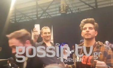 Eurovision 2017: Ευτυχισμένος ο Δημήτρης Κοντόπουλος που περάσαμε στον τελικό