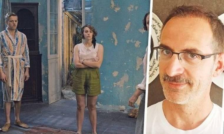 Κώστας Κρομμύδας: «Άφησα μουστάκι λόγω ρόλου»