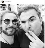 Η συνάντηση Ρέμου-Δάντη και η φωτό στο instagram!